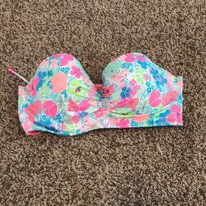 Victoria's Secret Strapless Bikini Top 36DDD